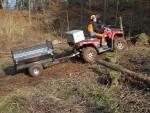 Vozík za ATV Zahradník