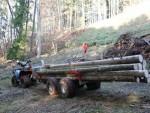 ATV Vyvážečka Dřevař