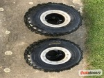 Ráfky s pneu 18x10x8 a 20x6x10