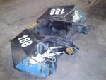 KTM 505 SX, zadní plast