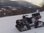 Polaris Sportsman 800 + Pásy